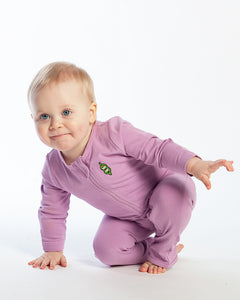 Baby Bean Playsuit - Violet