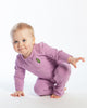Load image into Gallery viewer, Baby Bean Playsuit - Violet