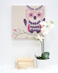 Owl Screen Print Art