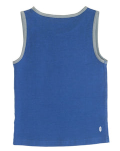 Underbeans Undershirt - Monarch Blue