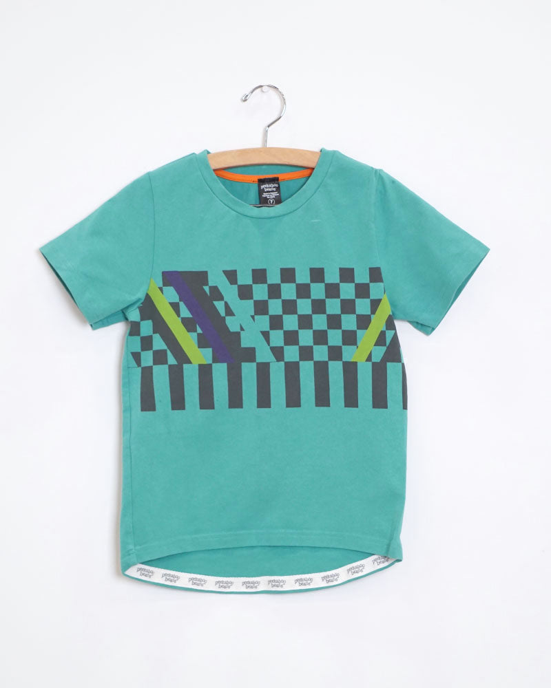Check Mate Tee - Size 7