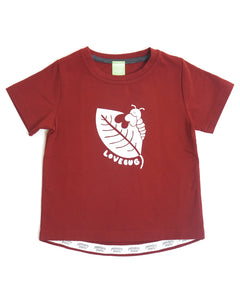 Every Wear Tee - Burgundy Lovebug