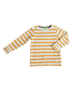 Dapper Dude Pullover - Sunflower Stripe