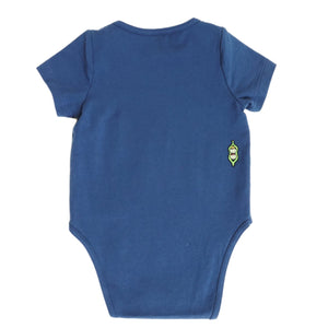 Short Sleeve Onesie - Navy