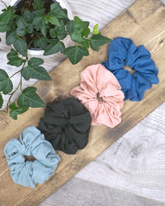 Large Scrunchie - Heather Forest