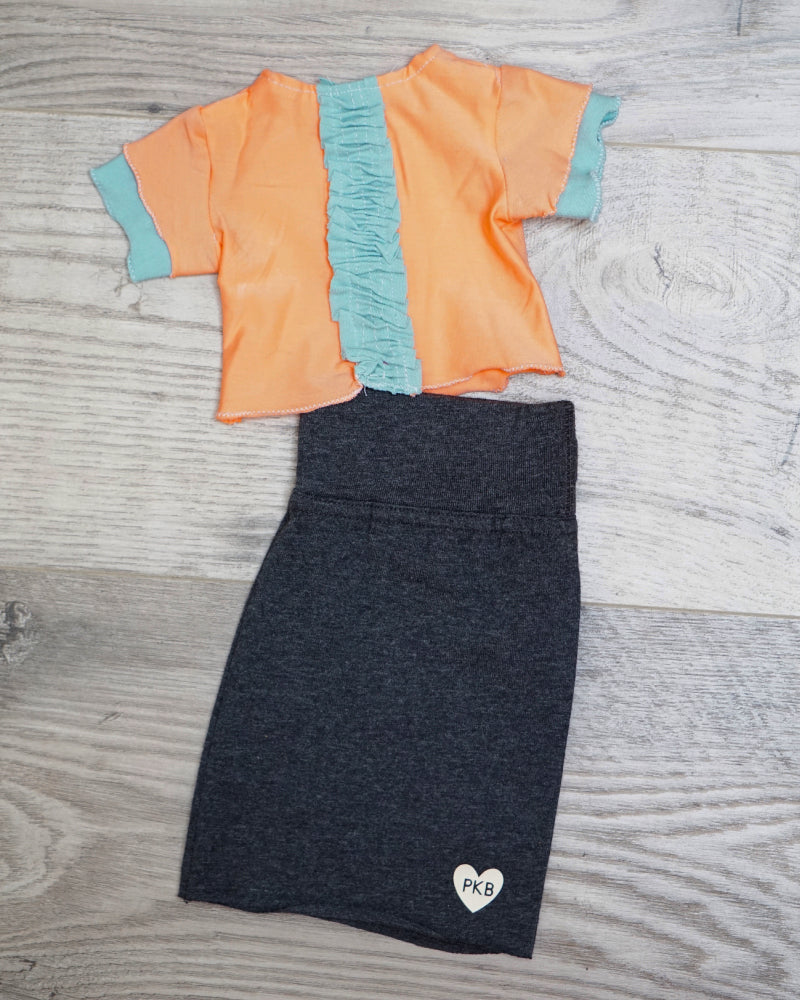 Lil Bean Tee & Skirt Set