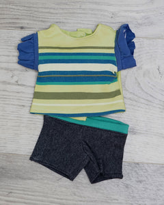 Lil Bean Tee & Shorts Set