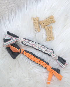 Braided Dog Toys - set of 2