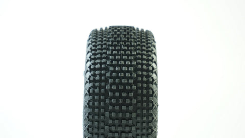 TPRO 1/8 OffRoad COUGAR Racing Tire Pre-Mounted (XR T4 - Super Soft)(WH)