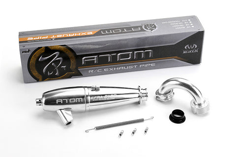 Atom EFRA2106 Off-Road Tuned Exhaust Pipe (Coated)