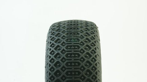 TPRO 1/8 OffRoad MATRIX Racing Tire Pre-Mounted (XR T4 - Super Soft)(WH)