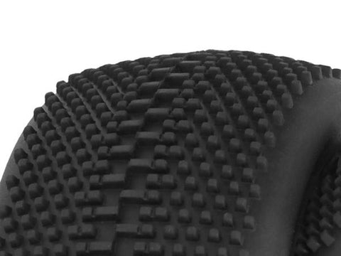 Performa Megabite Mounted Tire (Yellow Compound/Carbon Wheel/1:8 Buggy) CODE: PA9391