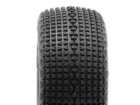 TPRO 1/8 OffRoad KeyLock Racing Tire Pre-Mounted (Soft Compound) (2)