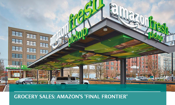 Grocery sales: Amazon's 'final frontier'
