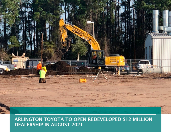Arlington Toyota to open redeveloped $12 million dealership in August 2021