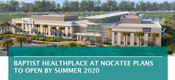 Baptist HealthPlace at Nocatee plans to open by summer 2020