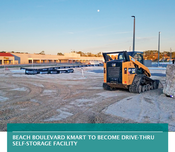 Beach Boulevard Kmart to become drive-thru self-storage facility