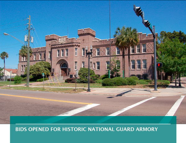 Bids opened for historic National Guard armory