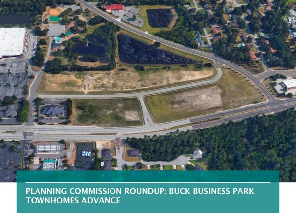 Planning Commission roundup: Buck Business Park townhomes advance