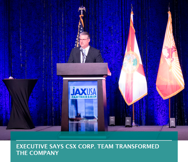 Executive says CSX Corp. team transformed the company