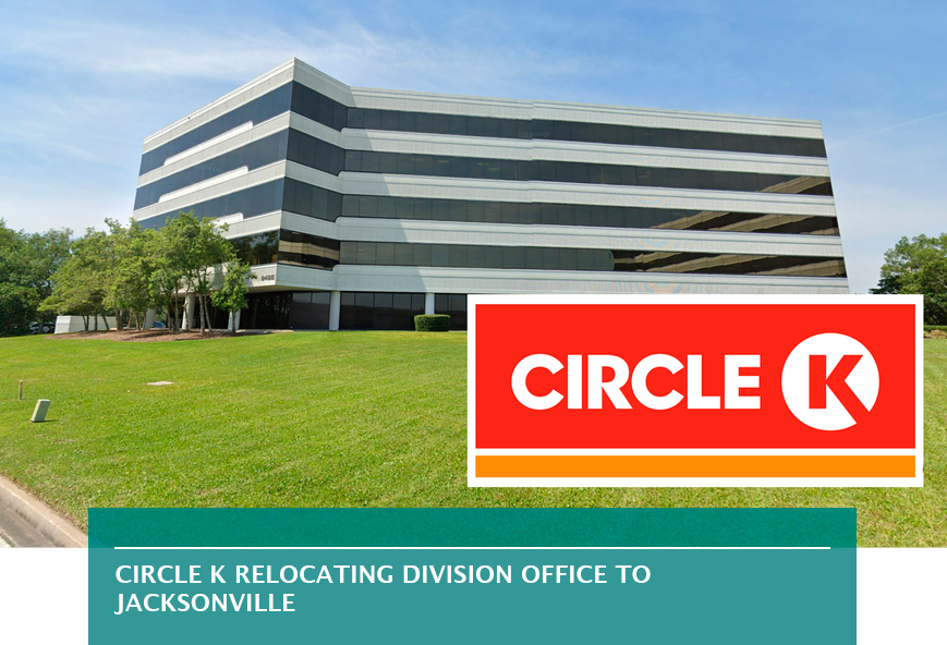 Circle K relocating division office to Jacksonville