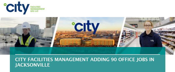 City Facilities Management adding 90 office jobs in Jacksonville