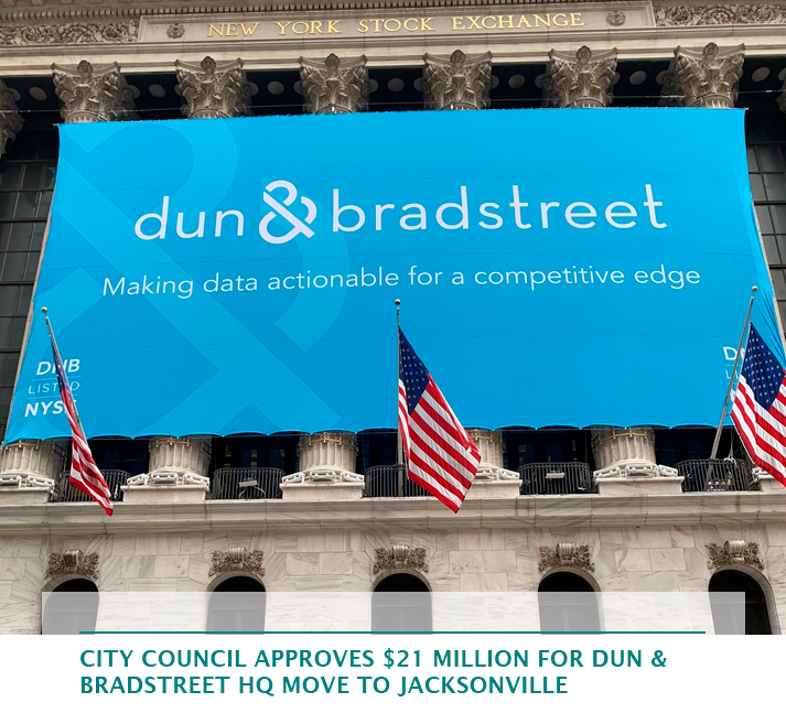 City Council approves $21 million for Dun & Bradstreet HQ move to Jacksonville