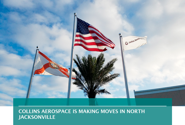 Collins Aerospace is making moves in North Jacksonville