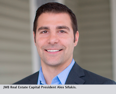 JWB Real Estate Capital President Alex Sifakis