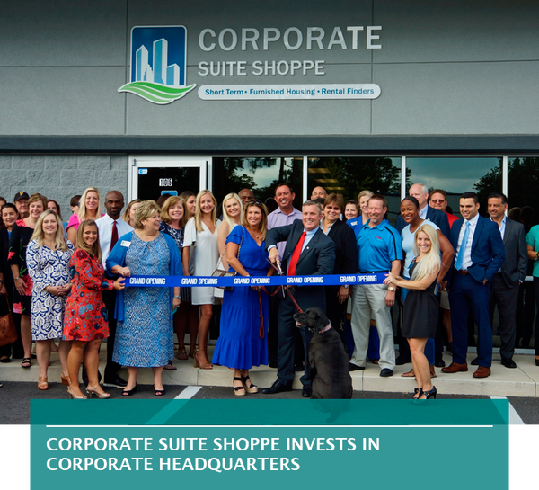 Corporate Suite Shoppe invests in corporate headquarters