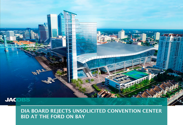 DIA board rejects unsolicited convention center bid at The Ford on Bay