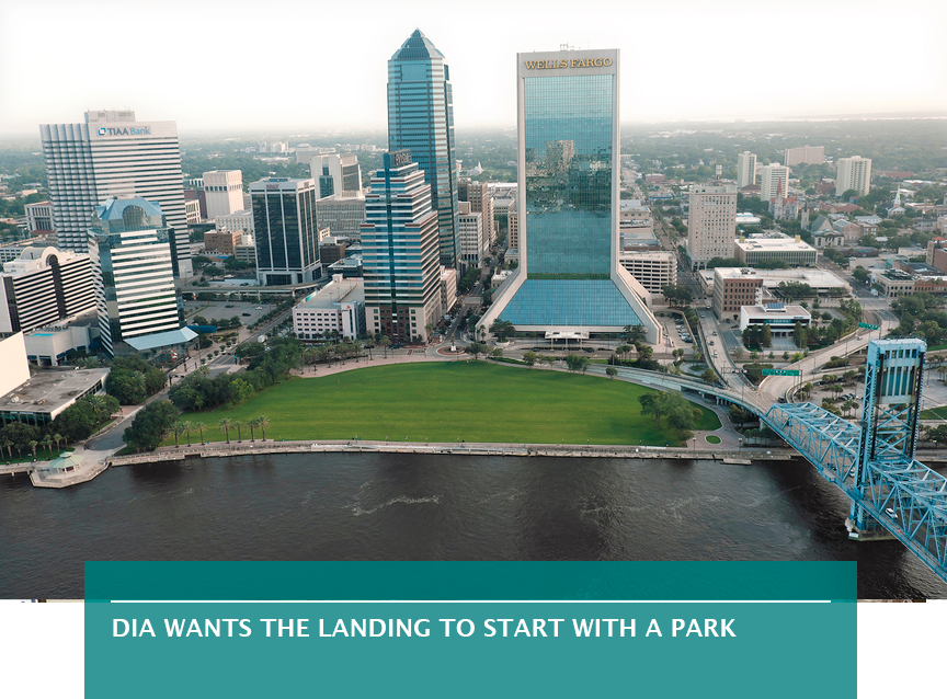 DIA wants the Landing to start with a park