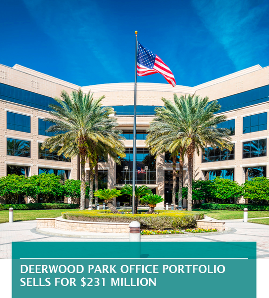 Deerwood Park office portfolio sells for $231 million