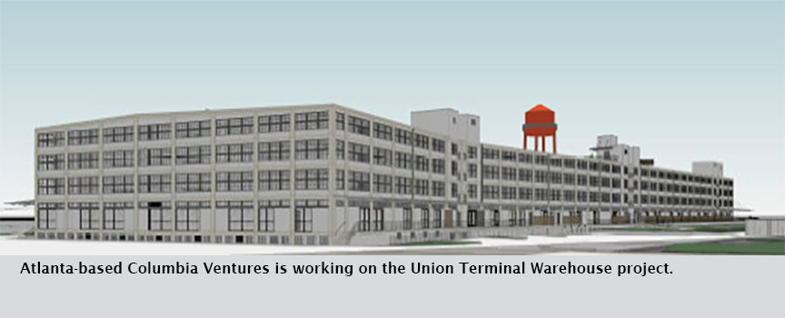 Atlanta-based Columbia Ventures is working on the Union Terminal Warehouse project.