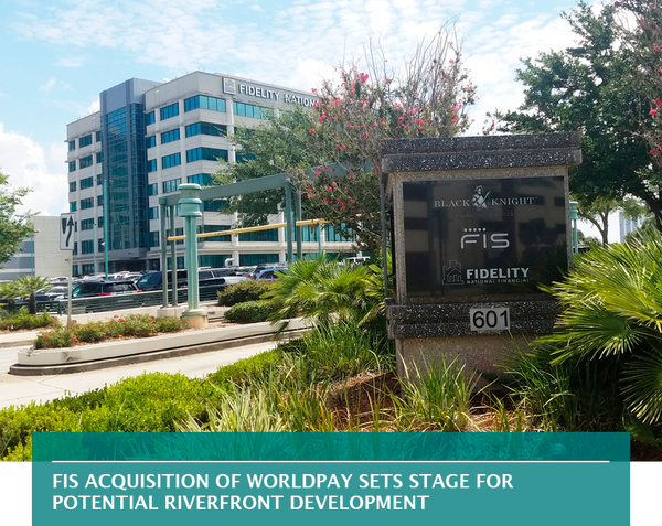 FIS acquisition of Worldpay sets stage for potential riverfront development