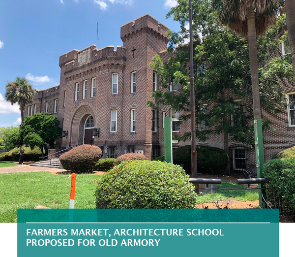 Farmers market, architecture school proposed for old Armory