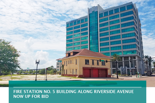 Fire Station No. 5 building along Riverside Avenue now up for bid