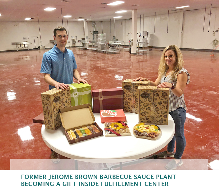 Former Jerome Brown barbecue sauce plant becoming A Gift Inside fulfillment center