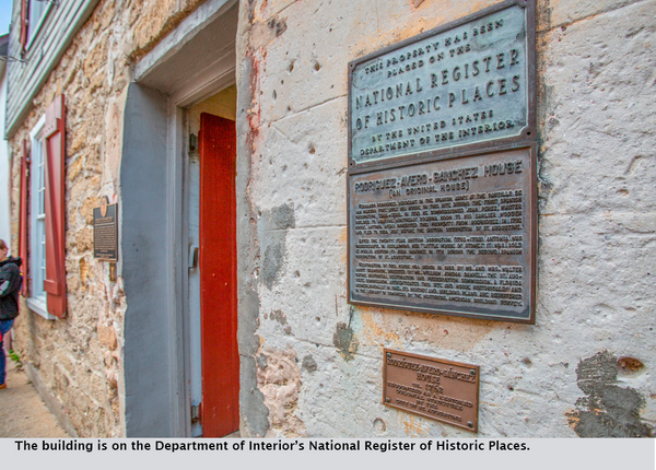 The building is on the Department of Interior's National Register of Historic Places.