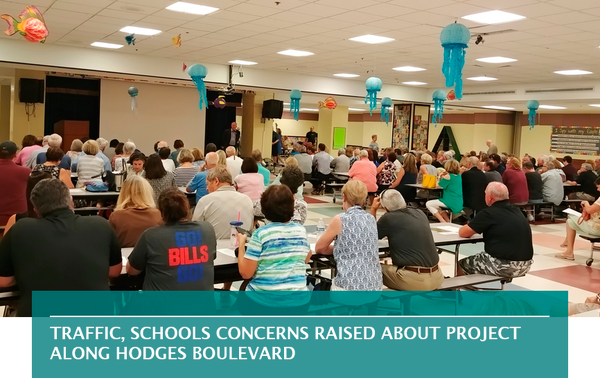 Traffic, schools concerns raised about project along Hodges Boulevard