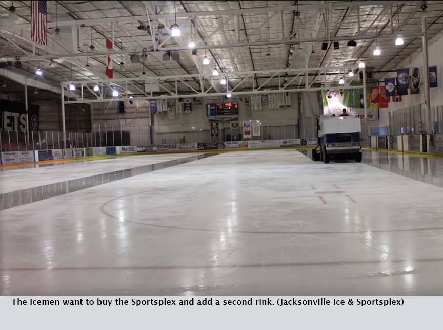 The Icemen want to buy the Sportsplex and add a second rink. (Jacksonville Ice & Sportsplex)