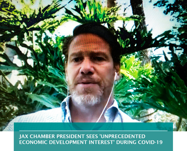 JAX Chamber president sees 'unprecedented economic development interest' during COVID-19