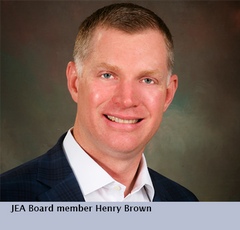 JEA Board member Henry Brown
