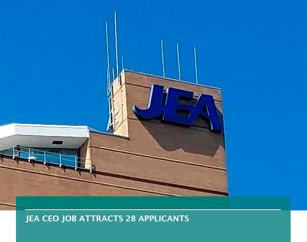 JEA CEO job attracts 28 applicants