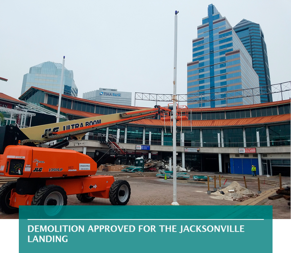 Demolition approved for The Jacksonville Landing