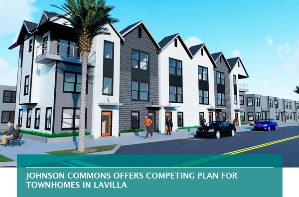 Johnson Commons offers competing plan for townhomes in LaVilla