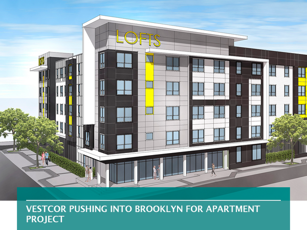 Vestcor pushing into Brooklyn for apartment project
