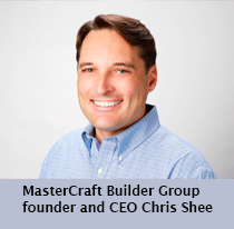 MasterCraft Builder Group founder and CEO Chris Shee