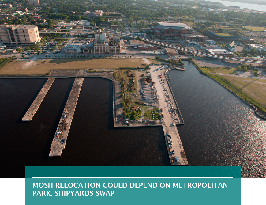 MOSH relocation could depend on Metropolitan Park, Shipyards swap