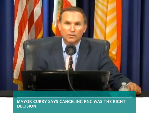 Mayor Curry says canceling RNC was the right decision